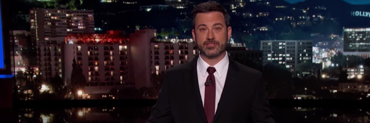 Jimmy Kimmel speaking