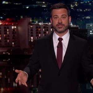 Jimmy Kimmel speaking