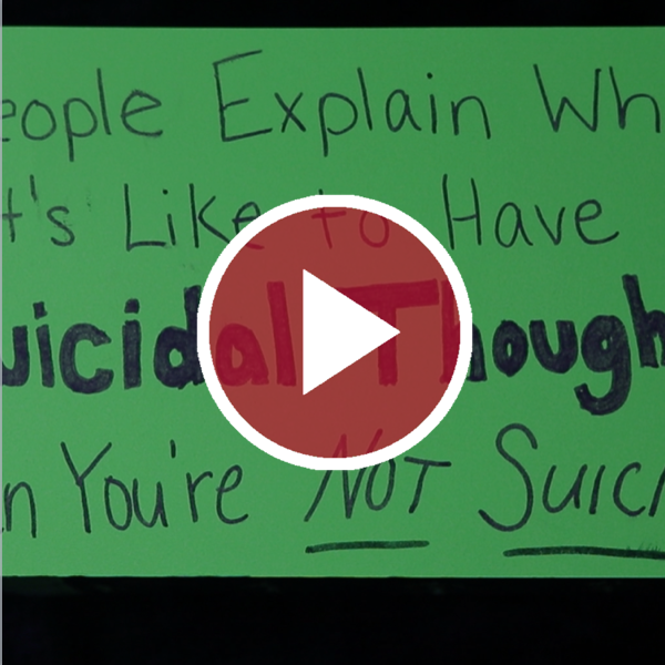 People Explain What It's Like to Have Suicidal Thoughts When You're Not Suicidal