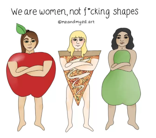 woman are not shapes