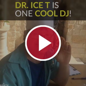 Dr. Ice T is One Cool DJ!