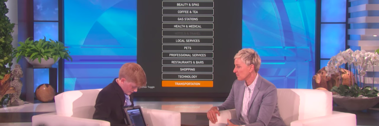 Alex Knoll on Allen DeGeneres show