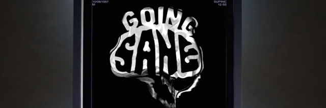 """A screenshot from the """"Going Sane"""" documentary"""
