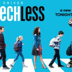 Speechless promo image featuring the DiMeo family