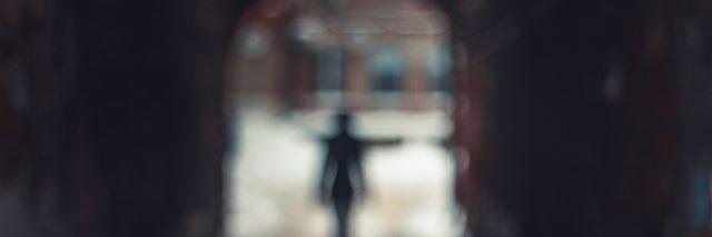 Blurred silhouette
