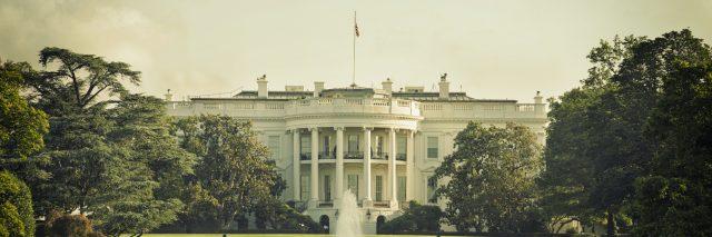 The White House in Washington, DC.