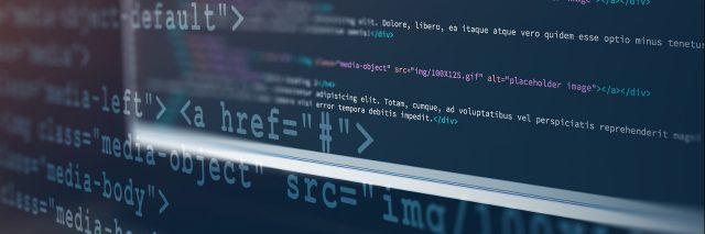 Coding a web site.