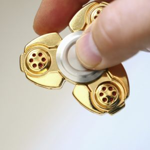 Fidget spinner toy.