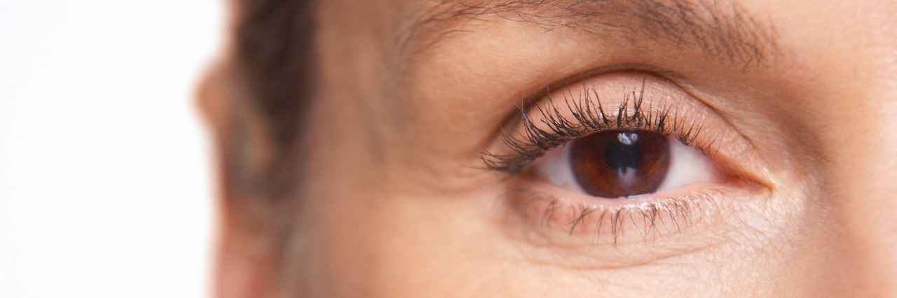 Middle-Aged Woman's eye