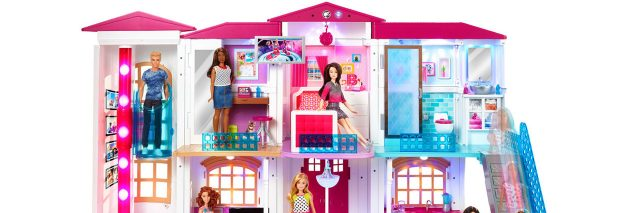 The Barbie Dreamhouse is not wheelchair accessible.