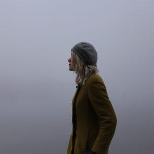 girl in fog