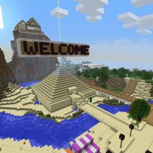 Screenshot from Autcraft