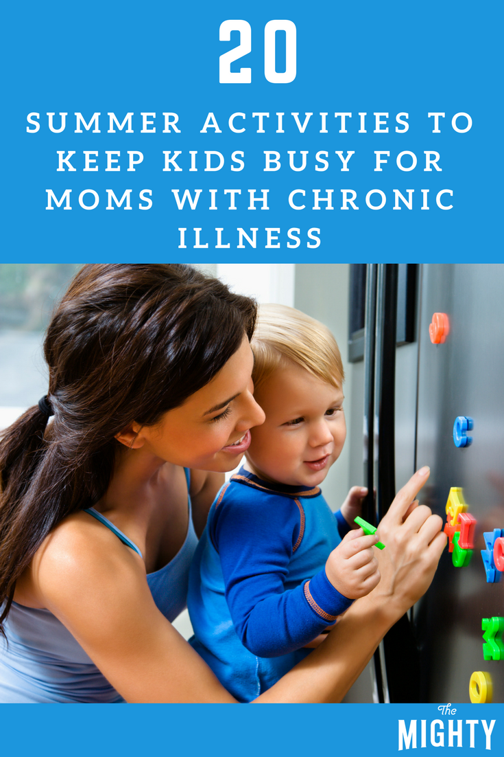 20 Summer Activities to Keep Kids Busy for Moms With Chronic Illness