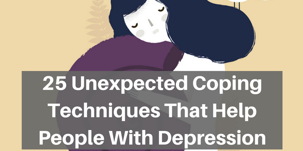 unexpected coping techniques that help people with depression the