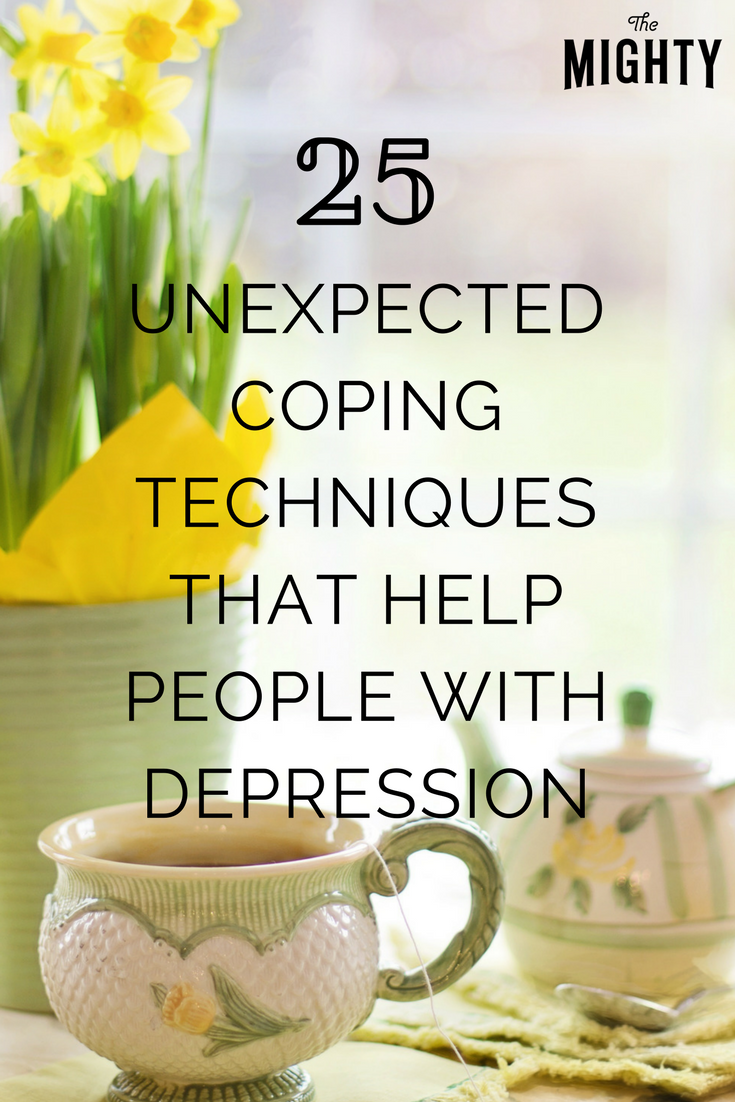25 Unexpected Coping Techniques That Help People With Depression