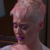 Katy Perry looking emotional