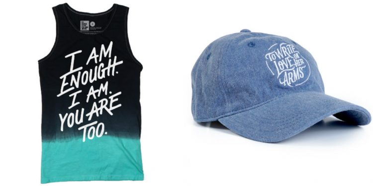 TWLOHA tank and hat