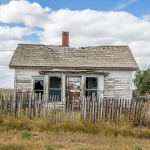 dilapidated and abandoned house
