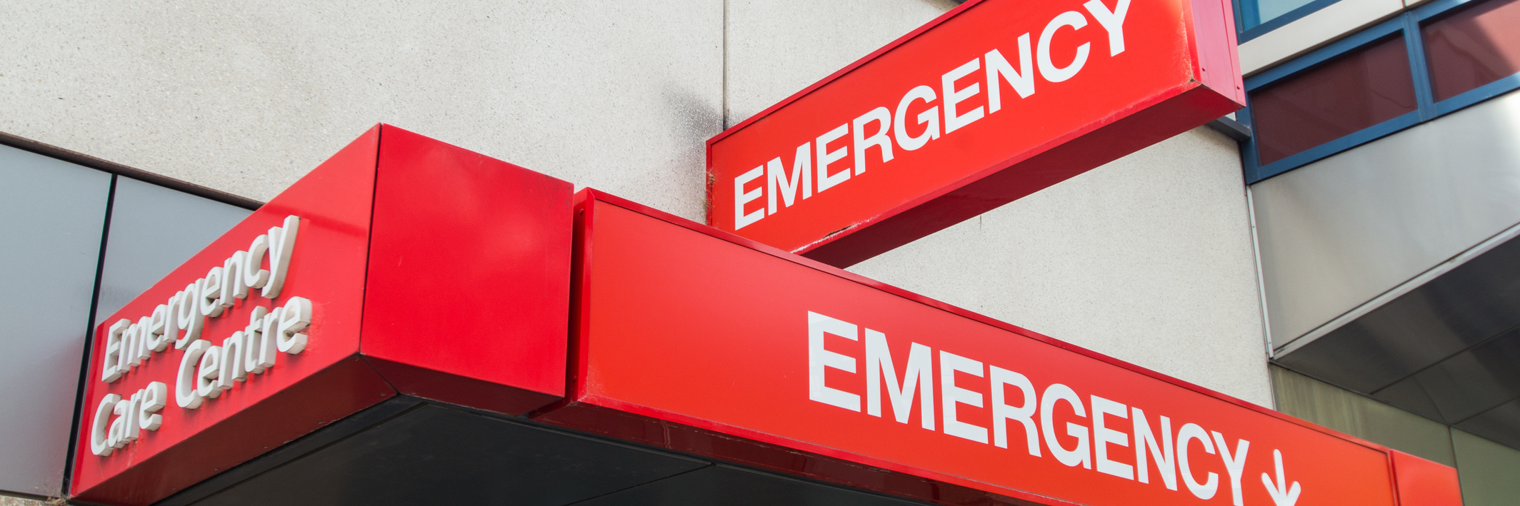 emergency room entrance