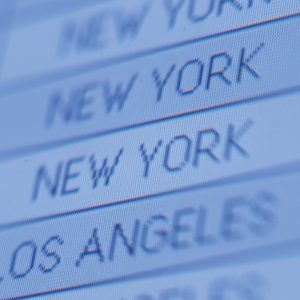 board listing cities new york and los angeles