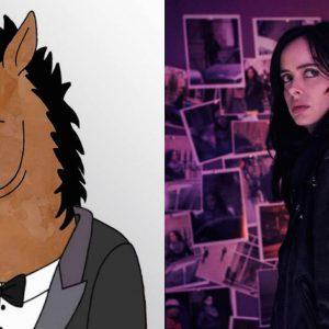 BoJack Horseman and Jessica Jones