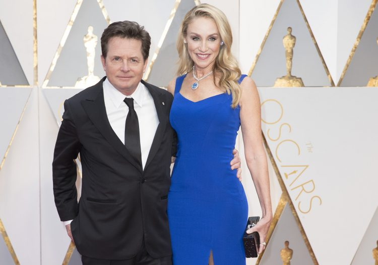 michael j fox tracy pollan