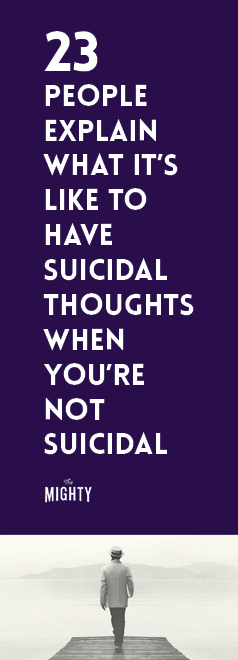 What It's Like to Have Passive Suicidal Thoughts