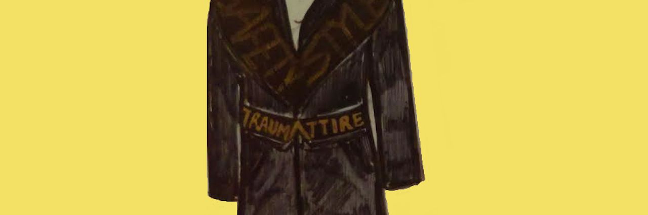 sketch of a coat