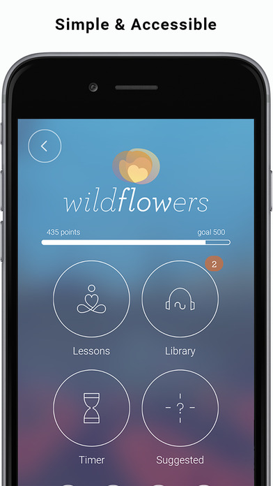wildflower app screengrab