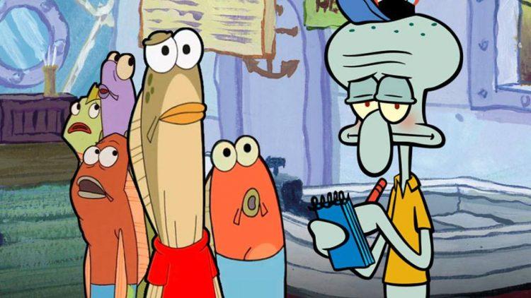 SpongeBob Squidward