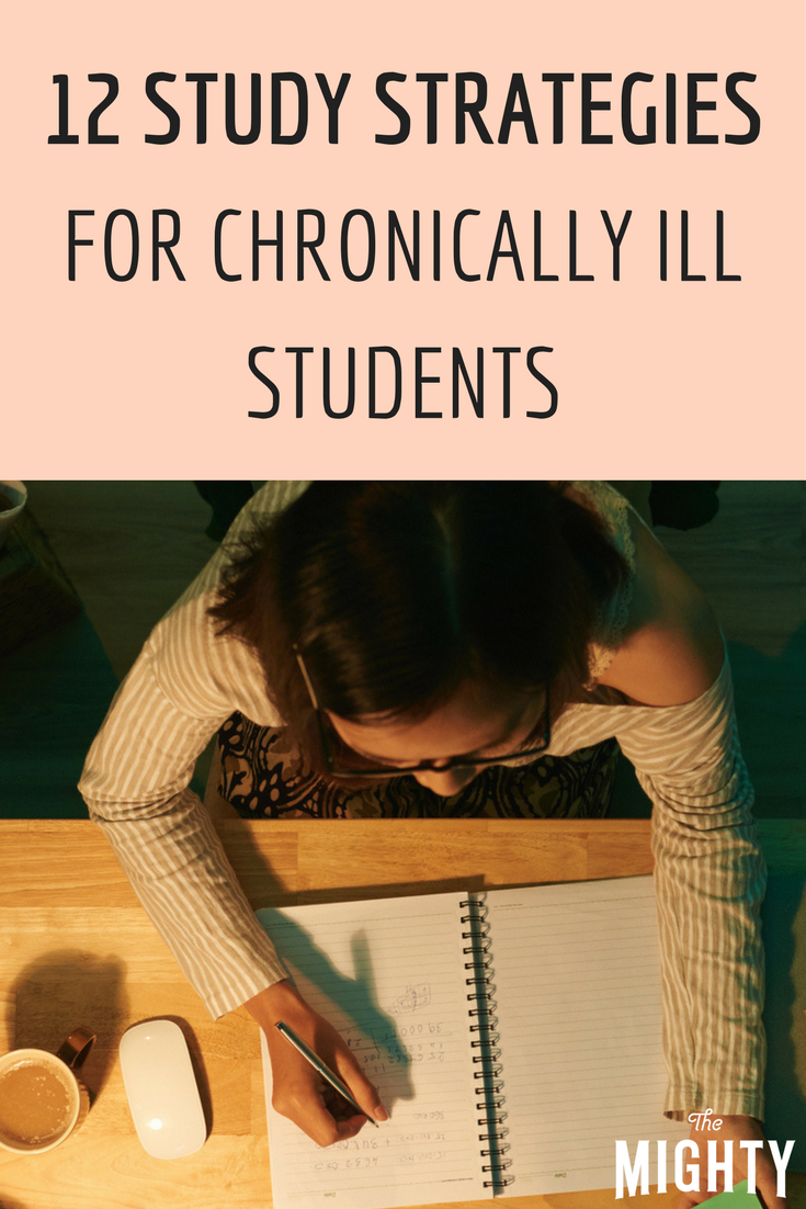 12 Study Strategies for Chronically Ill Students