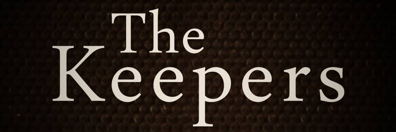 logo for netflix show the keepers