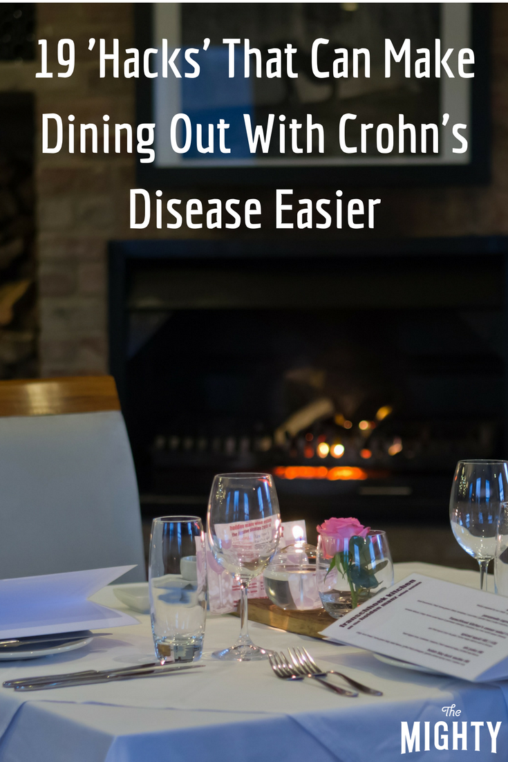 19 'Hacks' That Can Make Dining Out With Crohn's Disease Easier