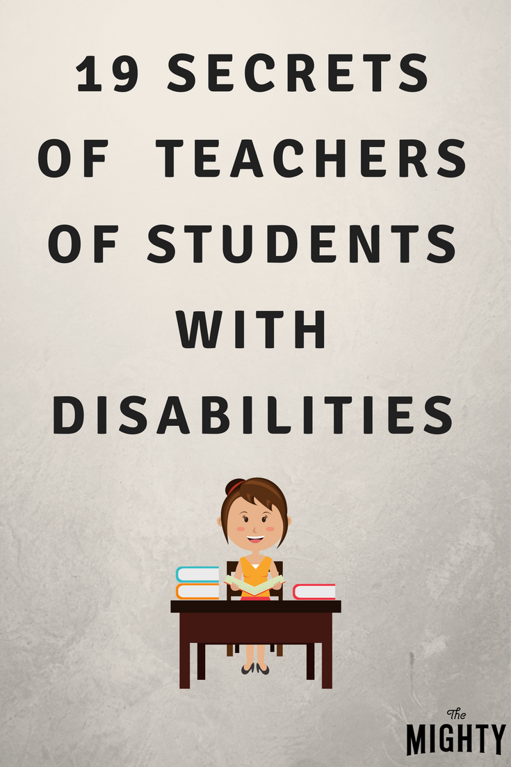19 Secrets of Teachers of Kids With Disabilities
