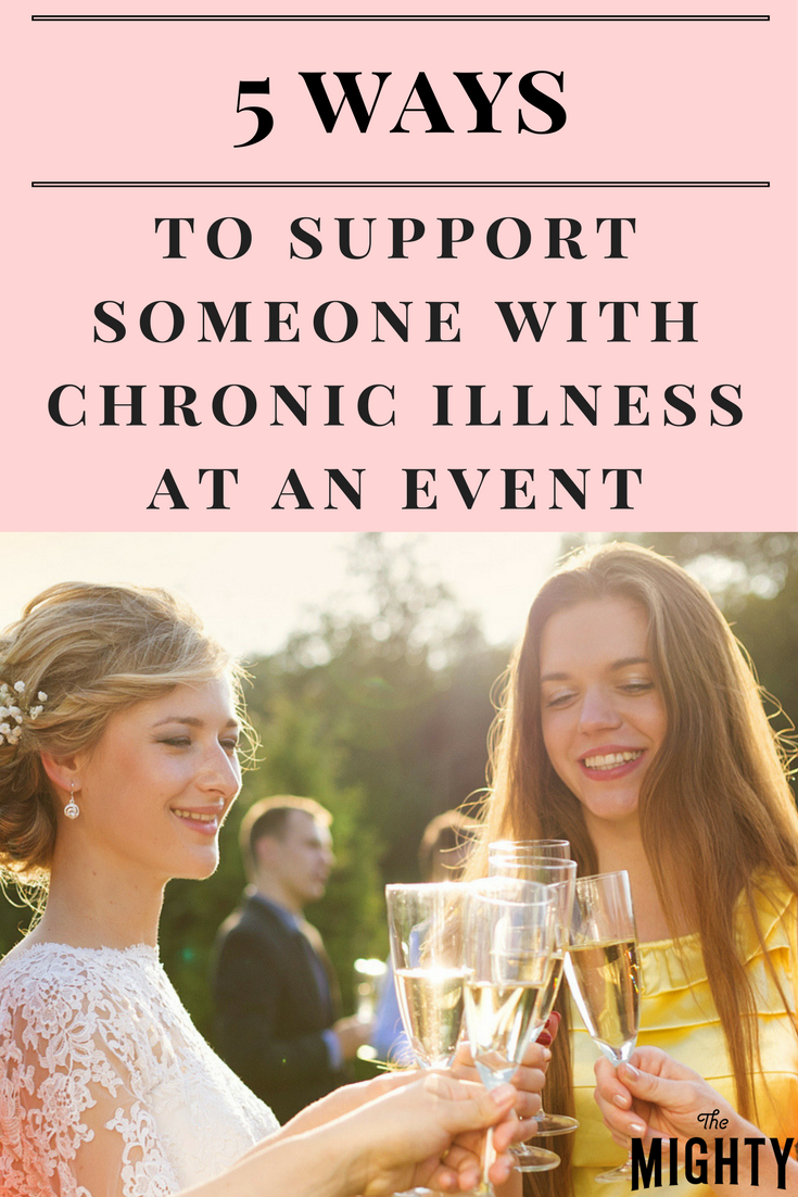 5 Ways to Support Someone With Chronic Illness at an Event