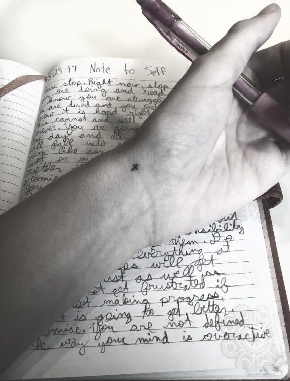 hand over journal