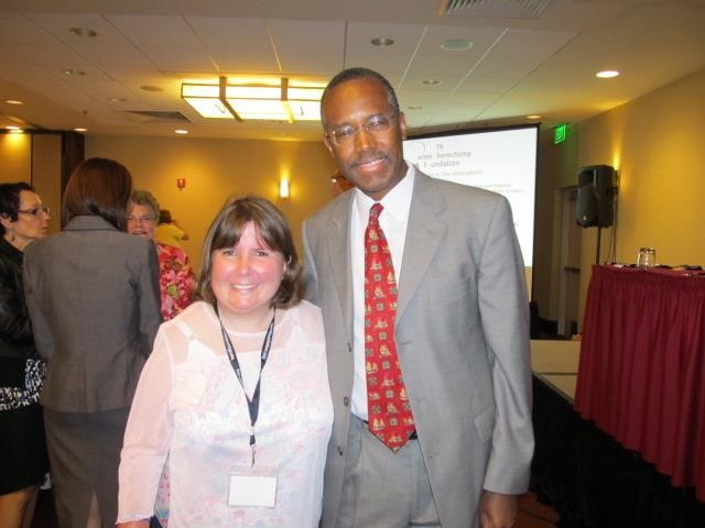 beth usher with dr ben carson