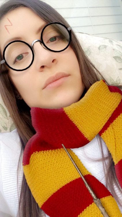 snapchat harry potter filter