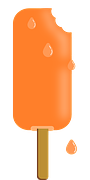 orange ice cream bar