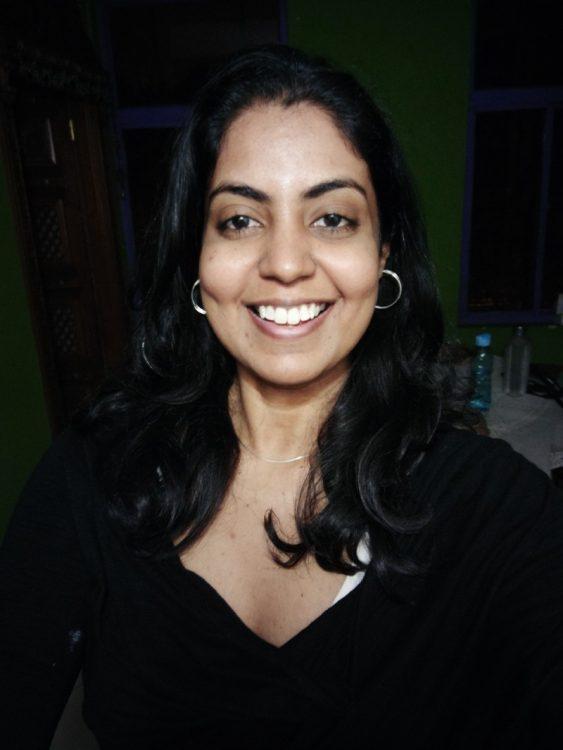closeup of female cancer survivor smiling