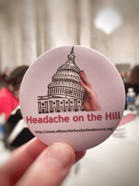 headache on the hill sticker