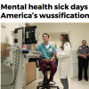 Mental health sick days a sign of America's wussification