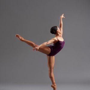 ballet dancer standing on one foot