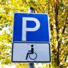 Disabled parking sign.