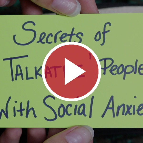 Secrets of 'Talkative' People With Social Anxiety