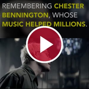 Remembering Chester Bennington, Whose Music Helped Millions