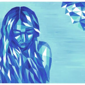woman geometric
