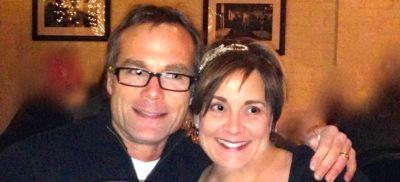 Andrea Thomas and husband