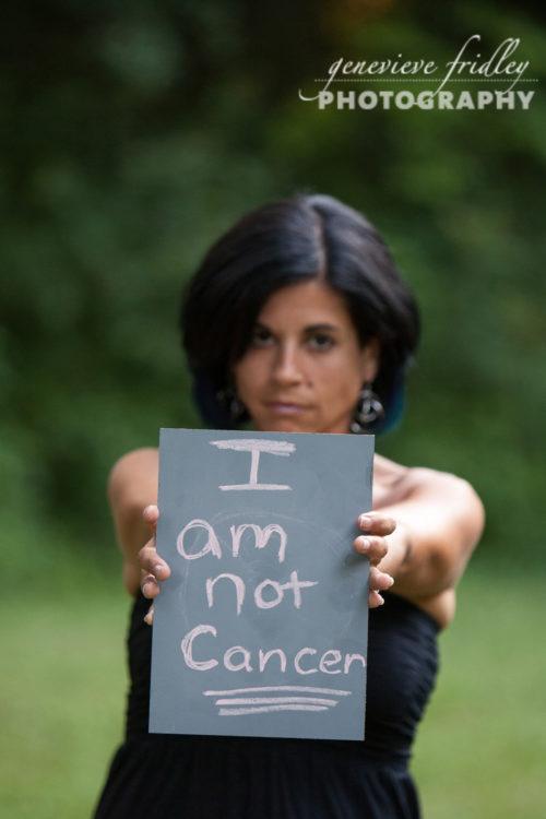 AnnMarie Otis I am not cancer photo