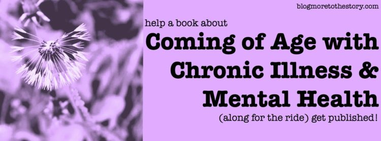coming of age with chronic illness and mental health book